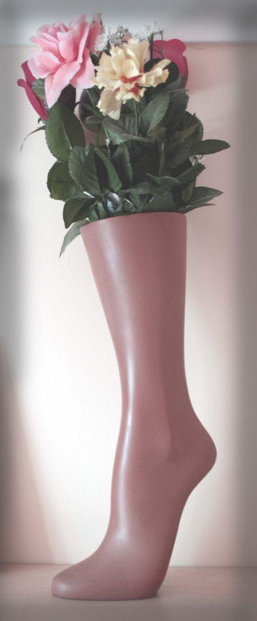 Foot Vase