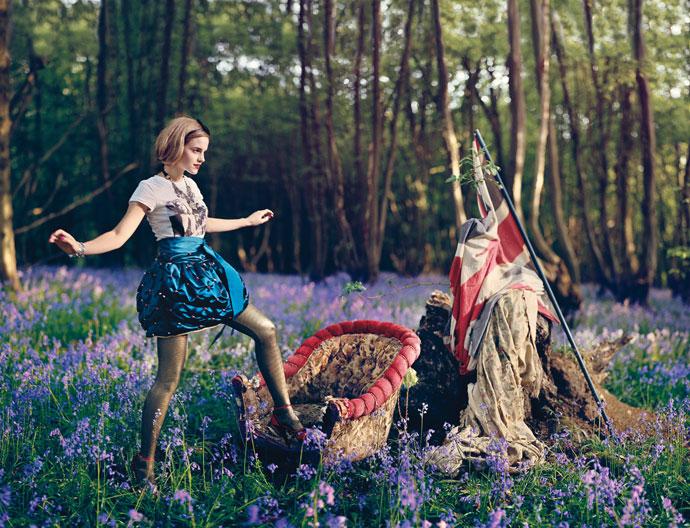 emma watson vogue 2011 photoshoot. Emma Watson for Teen Vogue